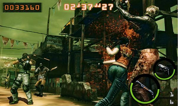 Resident Evil: The Mercenaries 3D Gameplay