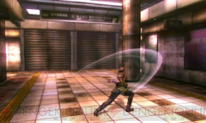 Shin Megami Tensei IV gameplay - Flynn attacking with a sword