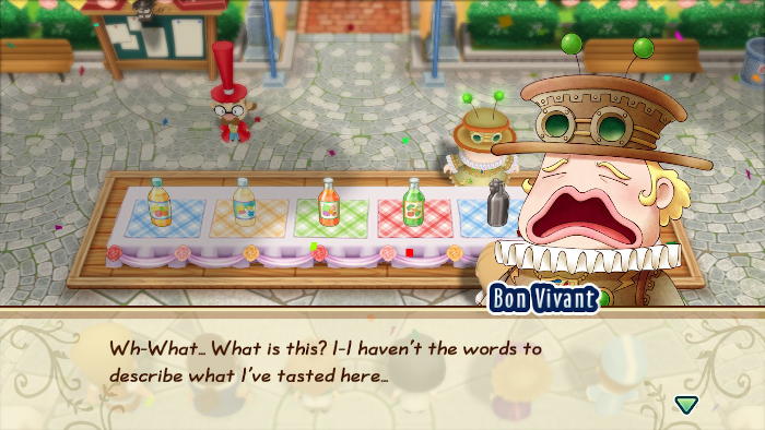 Attending the Cooking Festival in Story of Seasons: Friends of Mineral Town.