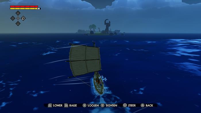 Sailing in Windbound