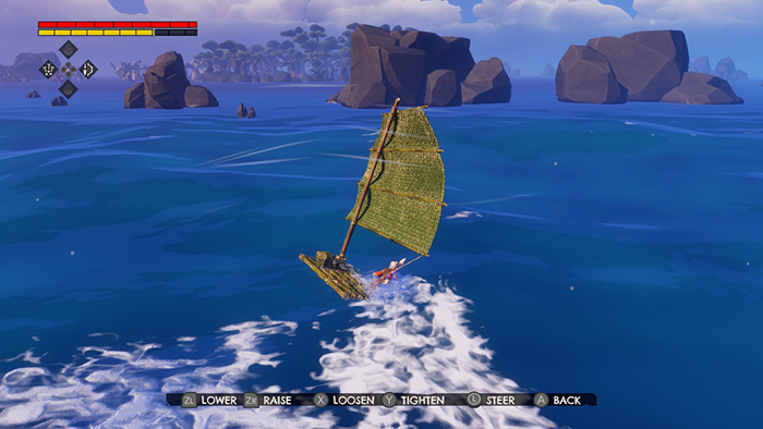 Sailing can be hard in Windbound
