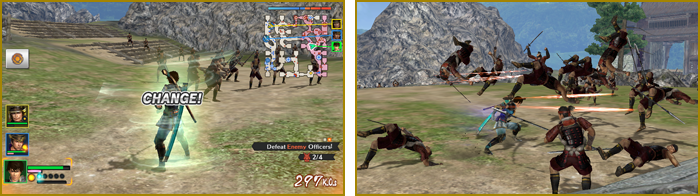 Samurai Warriors Chronicles 3 Gameplay