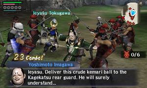 Samurai Warriors Chronicles 3 Gameplay
