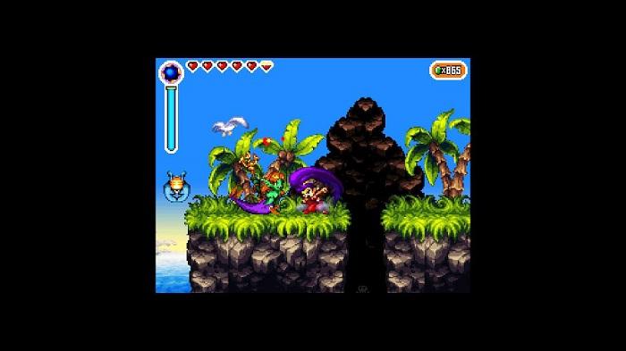 Combat in Shantae