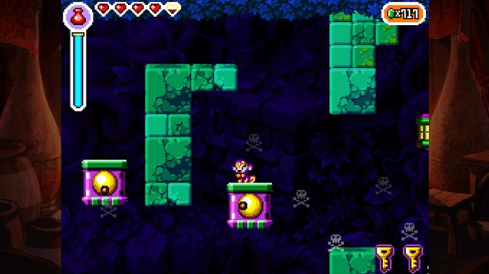 Dungeons in Shantae