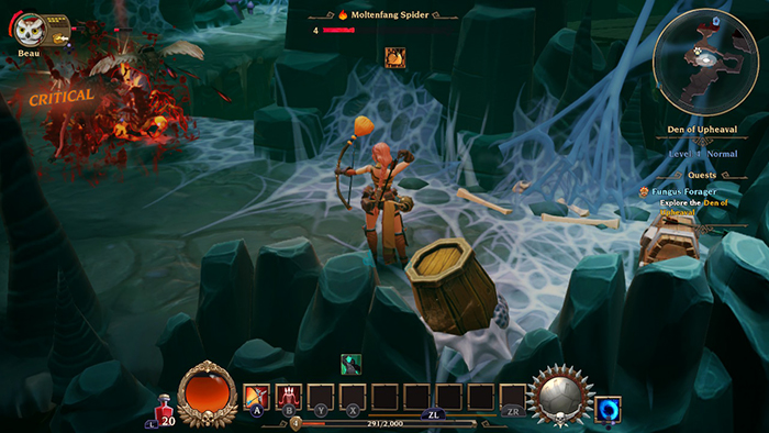 Sharpshooter Gameplay in Torchlight 3