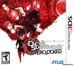 Shin Megami Tensei: Devil Survivor Overclocked 3DS Game Box Cover Art
