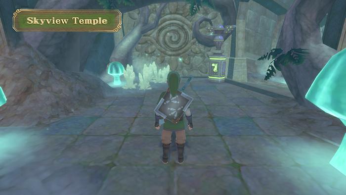 Skyview Temple in The Legend of Zelda: Skyward Sword HD
