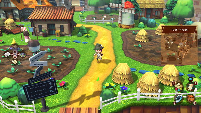 Snack World: The Dungeon Crawl - Gold Town