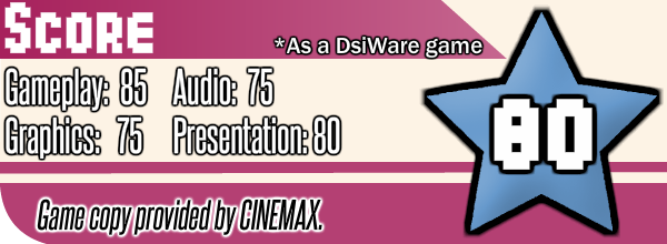 Sokomania 2: Cool Job DSi Review Score