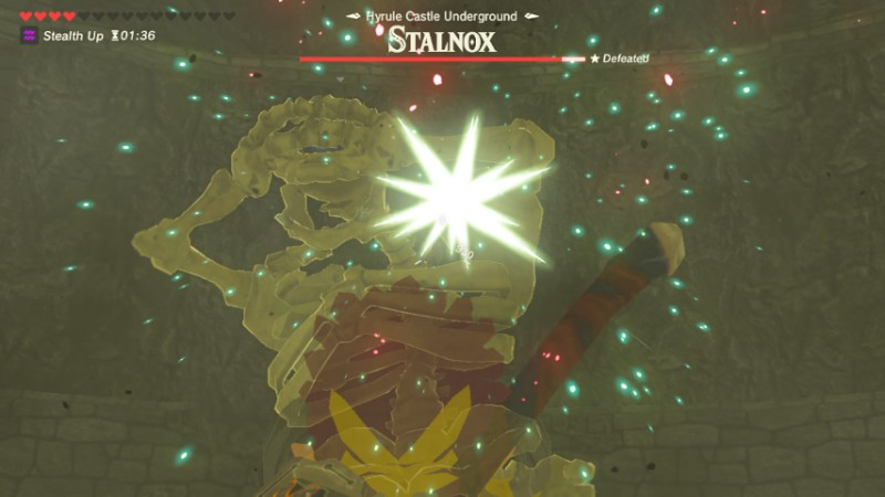 He was alive BEFORE calamity Ganon?