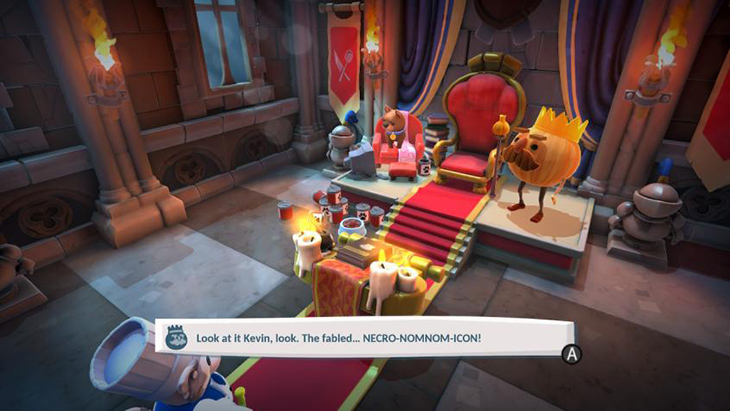 Story Cutscene in Overcooked All You Can Eat