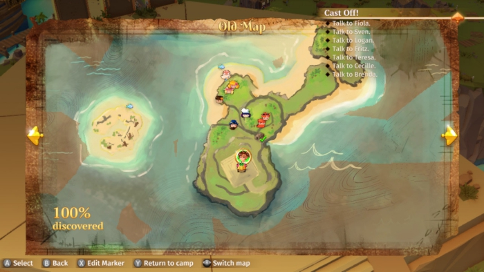 Stranded Sails Map
