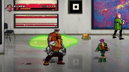 Streets of Rage 4 Floyd art gallery