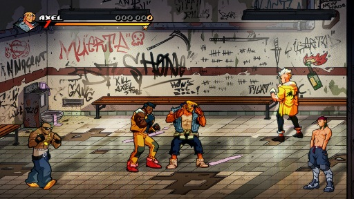 Streets Of Rage 4 Axel Level 2