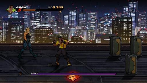 Streets of Rage 4 Adam Estel Boss Battle