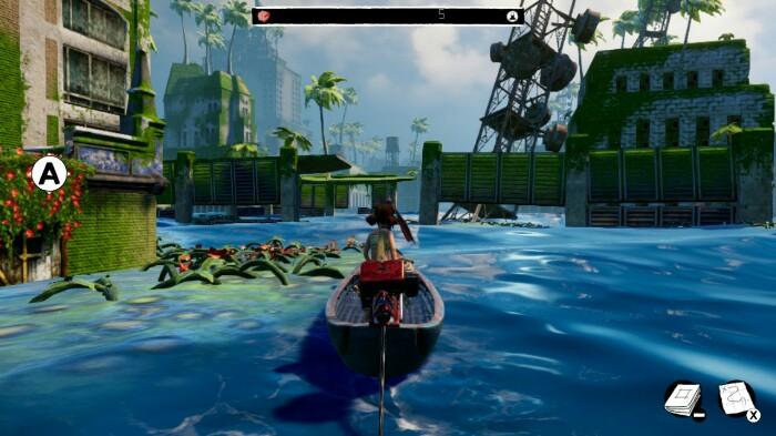 Submerged Boat