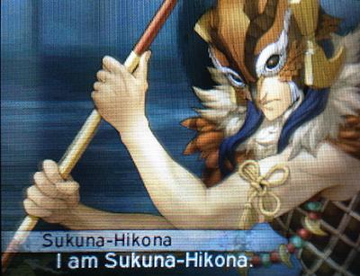 Sukuna Hikona in Shin Megami Tensei IV: Apocalypse