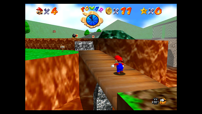 Super Mario 64 Gameplay on the Nintendo Switch