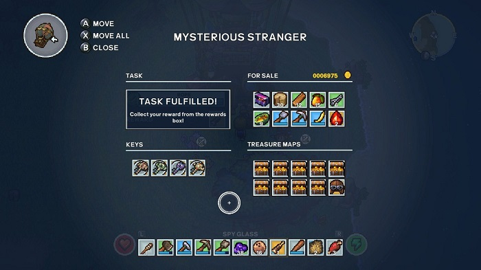 Mysterious Stranger in TS