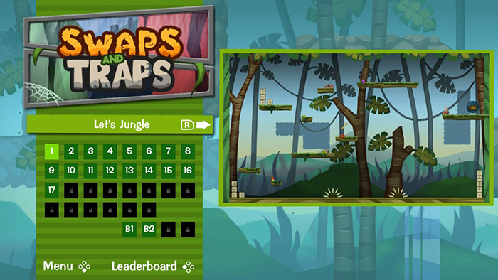 Swaps and Traps Level Selection