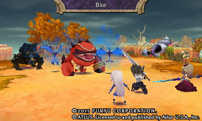 Battling in The Legend of Legacy