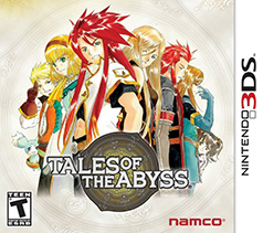 Tales of the Abyss Box Cover Art