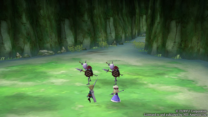 Early combat in The Alliance Alive HD Remastered