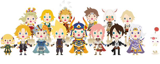 Theatrhythm Final Fantasy: Curtain Call Characters