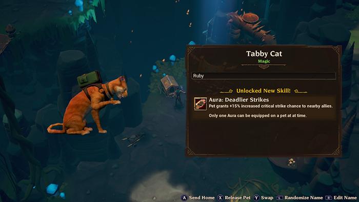Cat Pet in Torchlight III