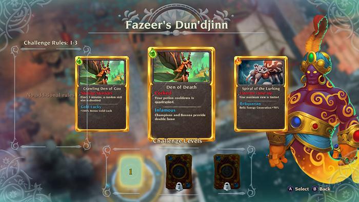 Fazeer's Dun'djinn Challenges in Torchlight III