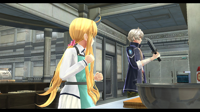 Cutscene in The Legend of Heroes: Trails of Cold Steel III