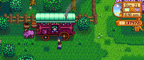 Traveling Cart - Stardew Valley