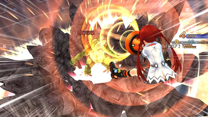 Uzume Animated Skill Scene in Megadimension Neptunia VII