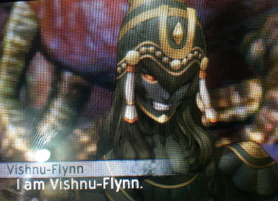 Vishnu-Flynn in Shin Megami Tensei IV: Apocalypse