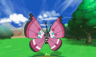 Vivillon - Pokemon X and Y