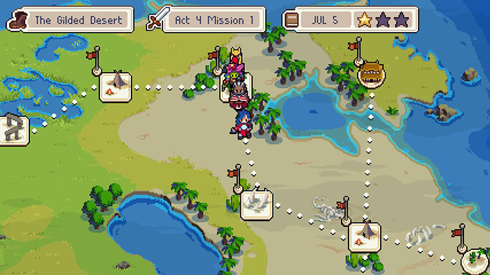 Wargroove World Map
