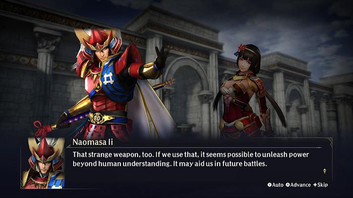 Strange weapon - Warriors Orochi 4 Ultimate