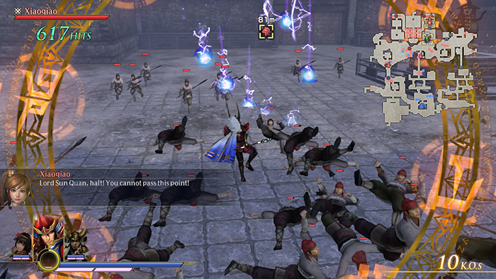 Fighting with magic in Warriors Orochi 4 Ultimate