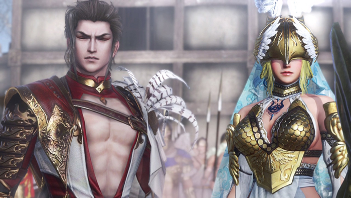 Ares and Athena in Warriors Orochi 4 Ultimate