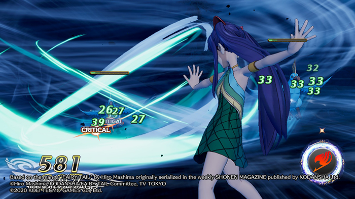 Combat in Fairy Tail Game