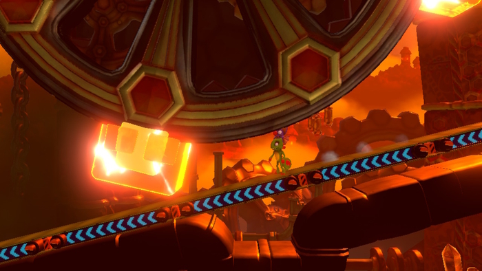 Yooka-Laylee and the Impossible Lair Gears