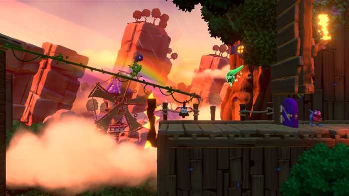 Yooka-Laylee and the Impossible Lair Level
