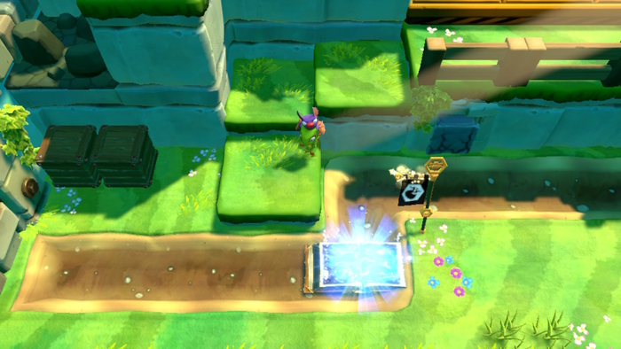 Yooka-Laylee and the Impossible Lair Overworld
