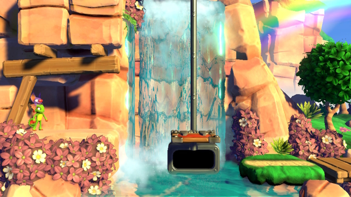 Yooka-Laylee and the Impossible Lair Waterfall