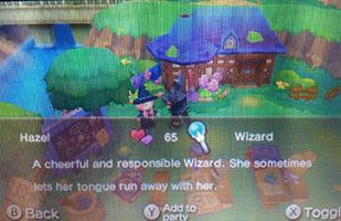 Add character to your party in Fantasy Life
