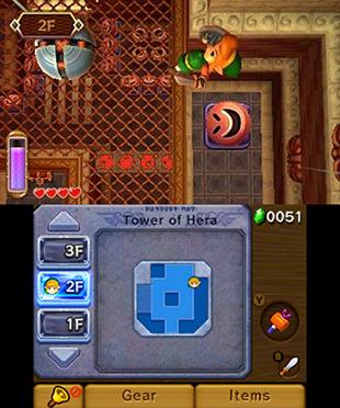 The Legend of Zelda: A Link Between Worlds Gameplay