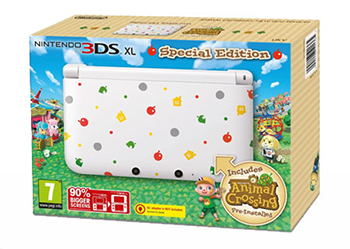 Limited Edition 3DS XL Animal Crossing: New Leaf Pack