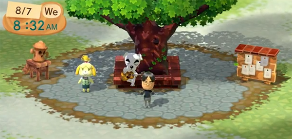 Animal Crossing: New Leaf Plaza for Nintendo 3DS