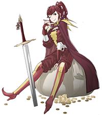 Anna from Fire Emblem Awakening
